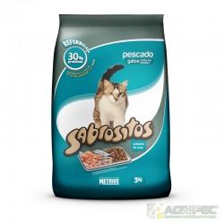 Metrive Sabrositos Gato Pescado Pack 5 x 3 kg